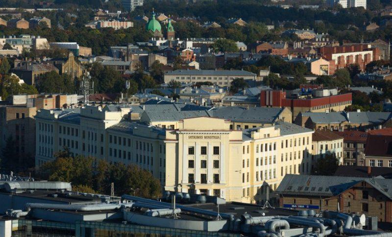 Satiksmes ministrijas ēka.