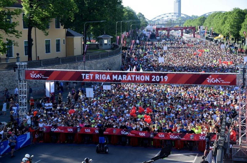 TET Rīgas maratons pirmo reizi notika zem IAAF zelta zīmes.