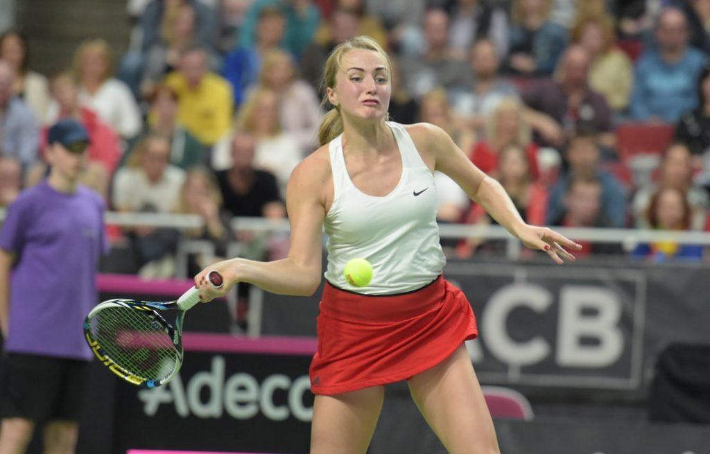 Diānai Marcinkevičai Strasbūrā neizdevās kvalificēties savam otrajam WTA sērijas turnīram.