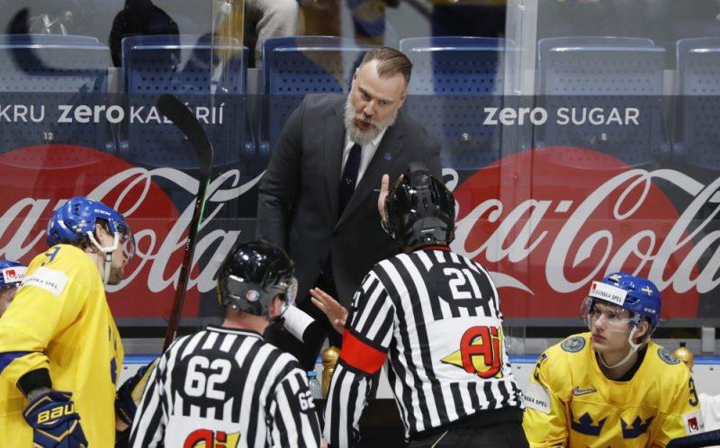 Zviedrijas izlases treneris Rihards Grēnbergs slavē Latvijas izlasi kā ļoti talantīgu komandu.
