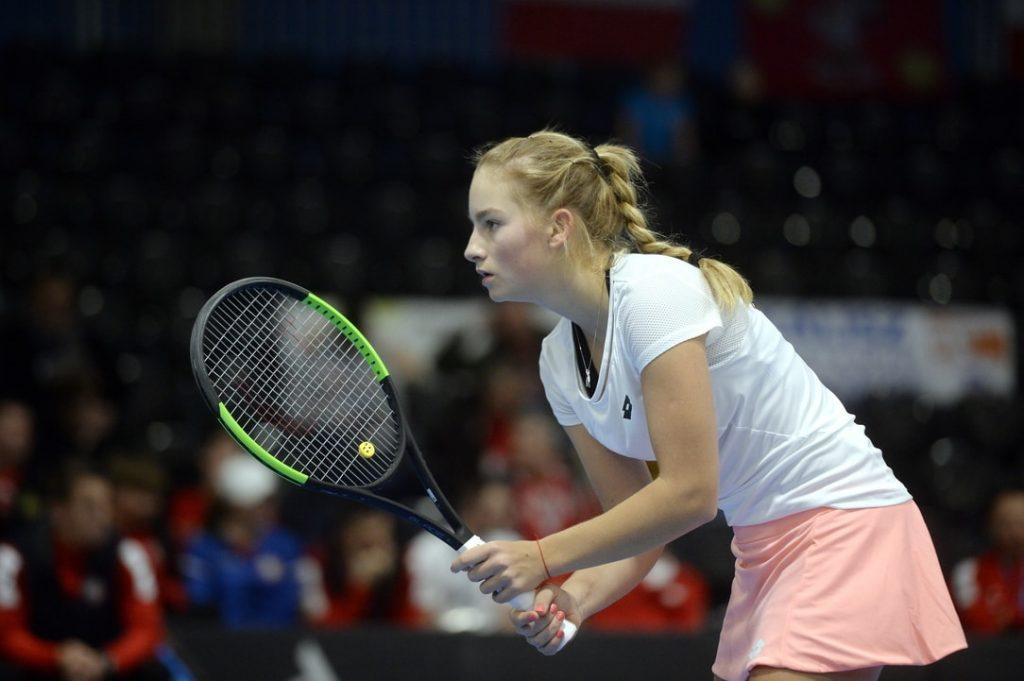 Latvijas jaunā un talantīgā tenisiste Daniela Vismane.