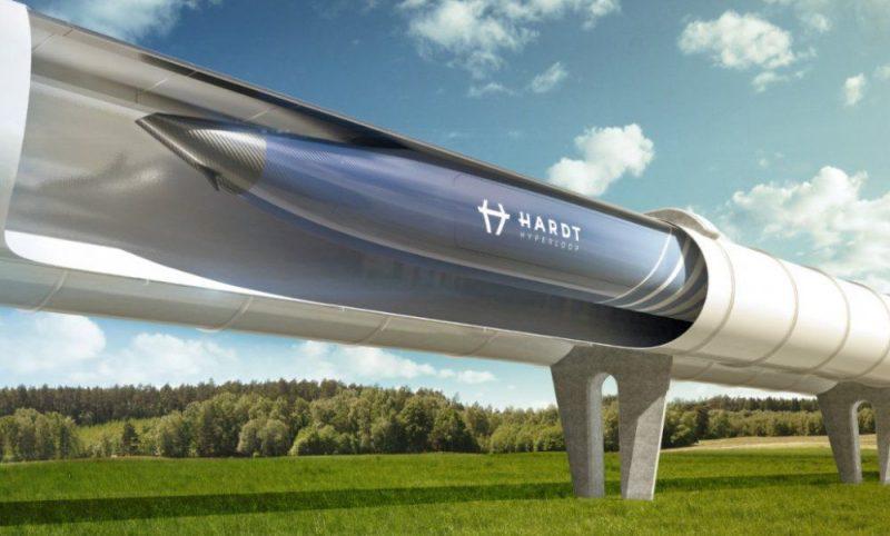 Pa hipercilpu Amsterdamu no Frankfurtes varētu sasniegt ātrāk nekā lidmašīna – apmēram 50 minūtēs.