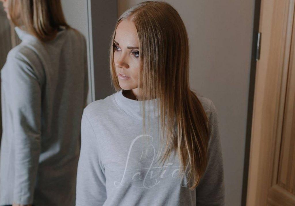 Modes eksperte Kristīne Smilga.