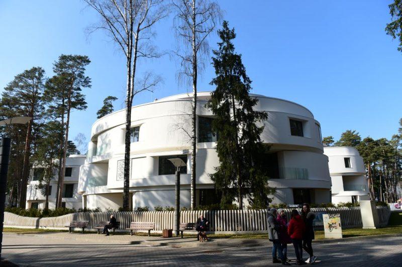 Māja Dzintaros. Ilustratīvs attēls