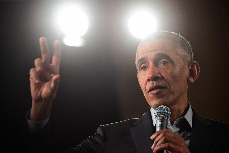 Bijušais ASV prezidents Baraks Obama.