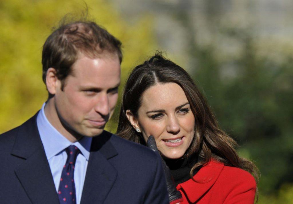 Princis Viljams un Keita Midltone divus mēnešus pirms kāzām – 2011.gada februārī.