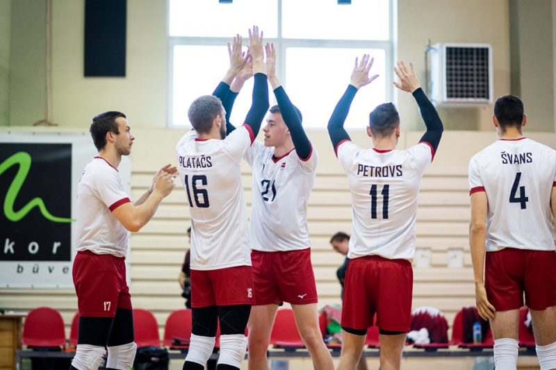 Latvijas volejbola izlases spēlētāji