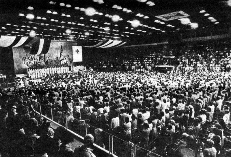 Kongresa atklāšana.