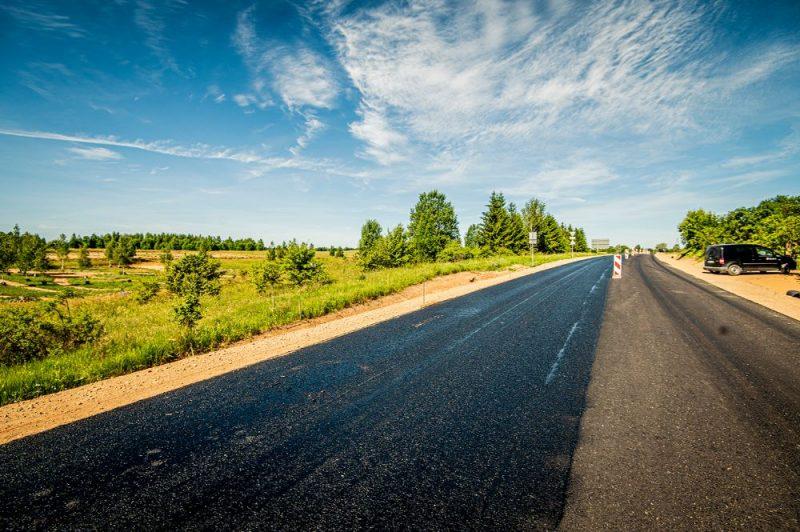 Kā pārbūvē Daugavpils apvedceļu un Daugavas tiltu pie Sventes (ceļu būve, ceļu remonts).