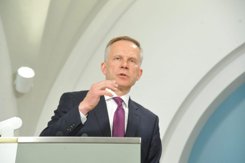 Latvijas Bankas prezidents Ilmārs Rimšēvičs