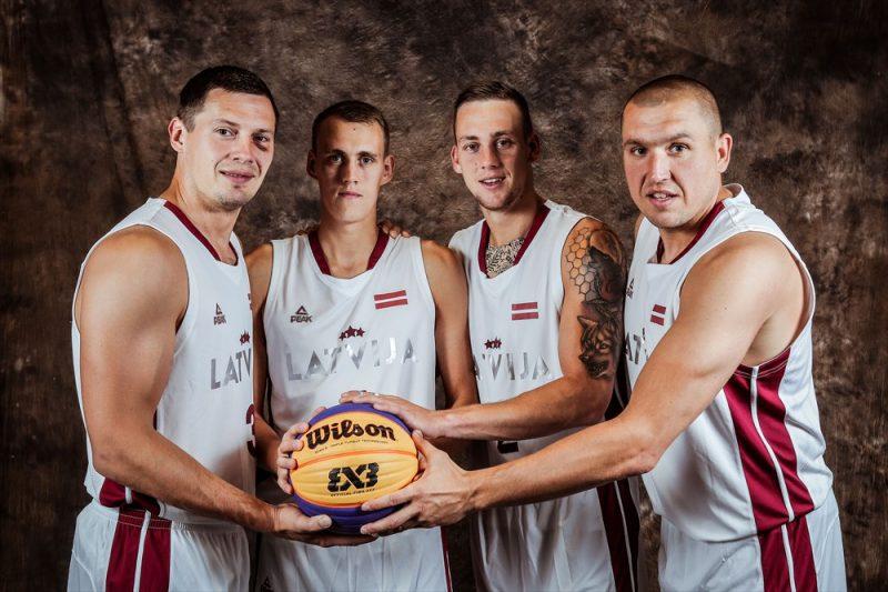 3×3 basketbola Latvijas vīru izlase.