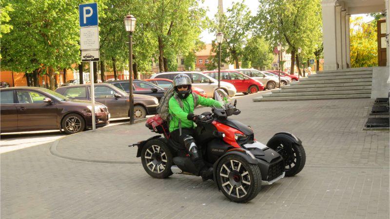 "Tricikls ""Can-Am Ryker Rally 900"""