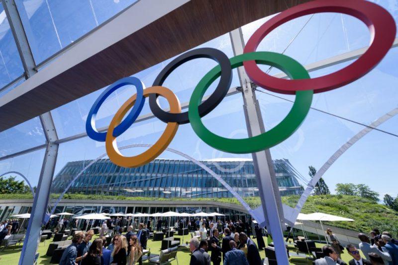 Starptautiskās Olimpiskās komitejas jaunās mītnes atklāšana Šveicē