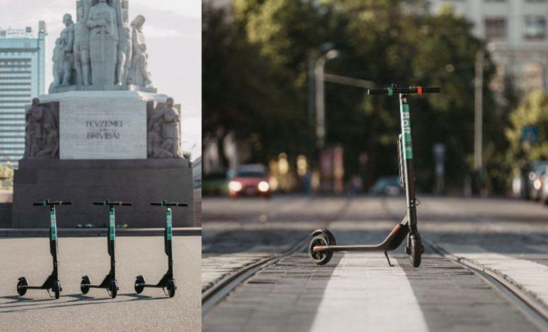 """""""Bolt"""" atklāj elektrisko skrejriteņu servisu Rīgā."""