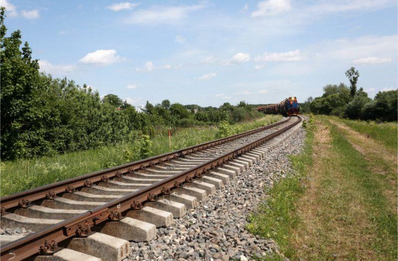 Mažeiķi-Reņģe dzelzceļa līnija.