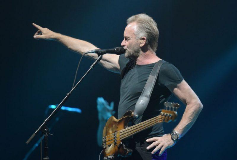 """Stings koncertē """"Arēnā Rīga"""" 2019. gada 10. jūnijā"""