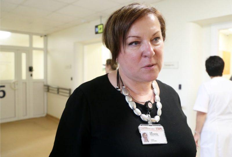 Paula Stradiņa klīniskās universitātes slimnīcas valdes priekšsēdētāja Ilze Kreicberga.