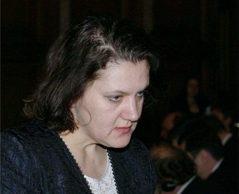 Daugavpils psihoneiroloģiskās slimnīcas valdes priekšsēdētāja Sarmīte Ķikuste.