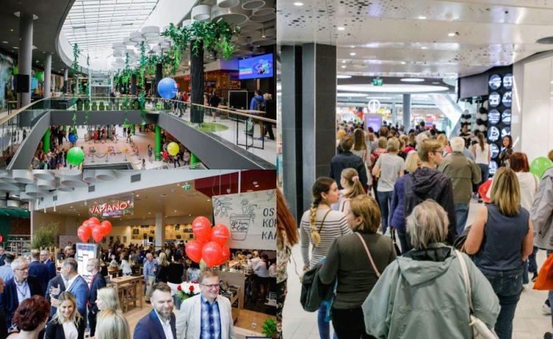"""""""Linstow Center Management"""" Tallinā atver rekonstruēto iepirkšanās un izklaides centru Ülemiste."""