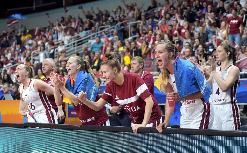 Latvijas sieviešu basketbola izlase.