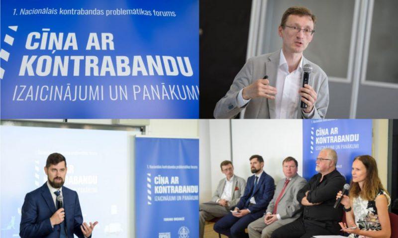 """Kontrabandas problemātikas forums """"Cīņa ar kontrabandu – izaicinājumi un panākumi""""."""