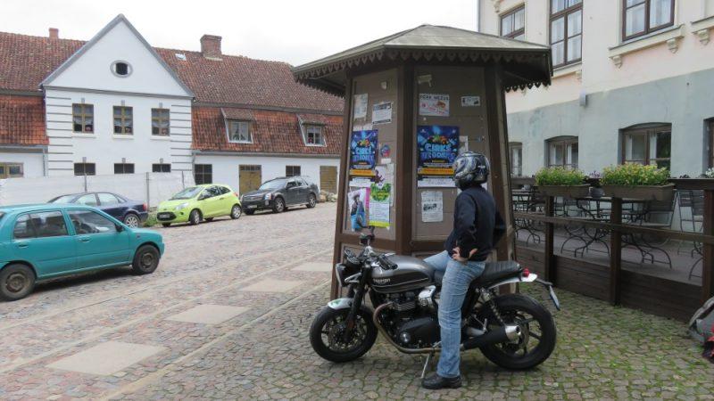 "Motocikls ""Triumph Speed Twin 1200"""
