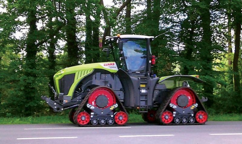 'Claas Xerion'
