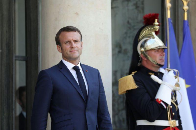 Francijas prezidents Emanuels Makrons.