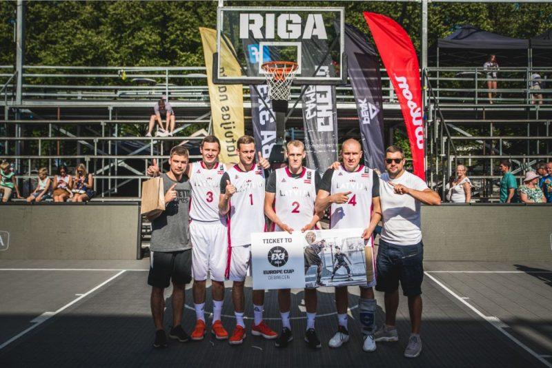 Latvijas 3×3 vīru basketbola izlase.