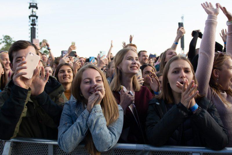 Eda Šīrana koncerts Lucavsalā 2019. gada 12. jūlijā.