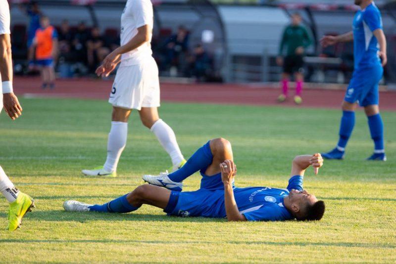 """""""RFS"""" futbola klubam debija Eirokausos noslēdzās ar dramatiski piedzīvotu neveiksmi."""