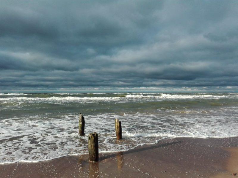 Baltijas jūra Ventspilī.