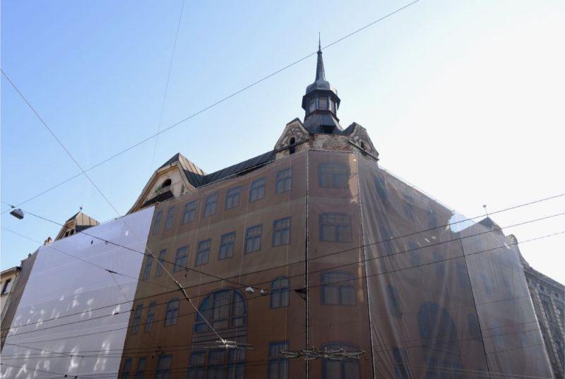 Grausts Marijas ielā 6, Rīgā.
