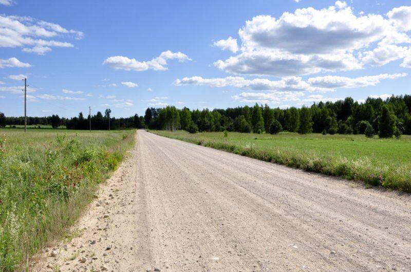 Ilustratīvs attēls/ Lauku ceļš.