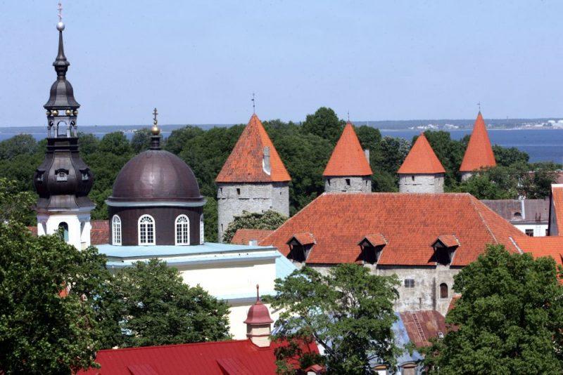 Tallinas vecpilsēta.