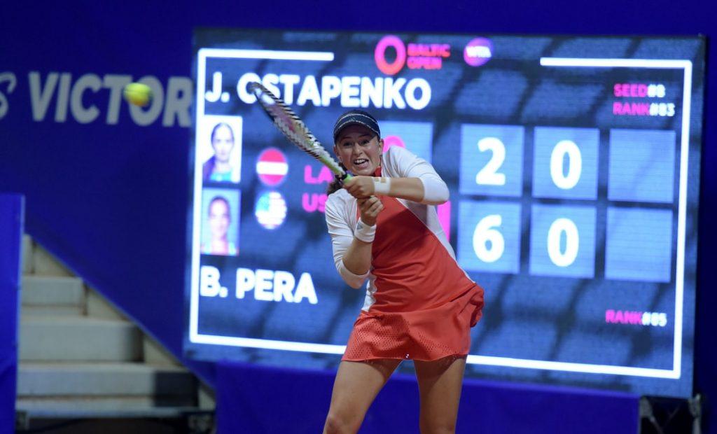 Aļona Ostapenko vīlusies par šo sezonu un jau gaida nākamo.