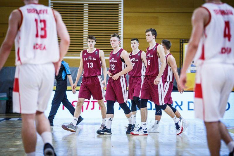 Latvijas U-20 basketbola izlase Eiropas čempionātā piedzīvojusi piecus zaudējumus piecās spēlēs.
