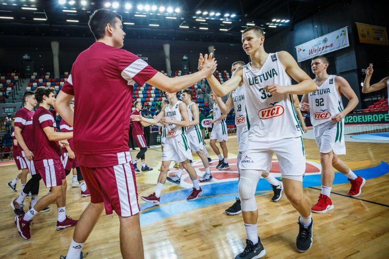 Latvijas U-20 izlasei Eiropas čempionāta astotdaļfinālā nebija variantu pret Lietuvas izlasi.