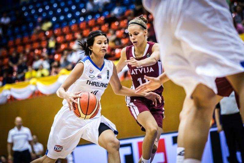 Latvija pret Taizemi Pasaules U-19 kausa izcīņā.