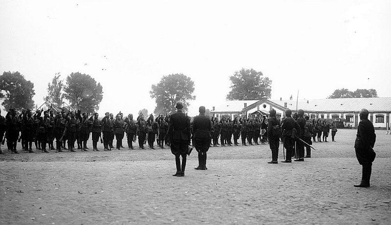 Mobilizēto poļu karavīru zvērests.