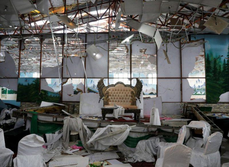 Kabulā spridzinātājs pašnāvnieks nogalina 63 kāziniekus