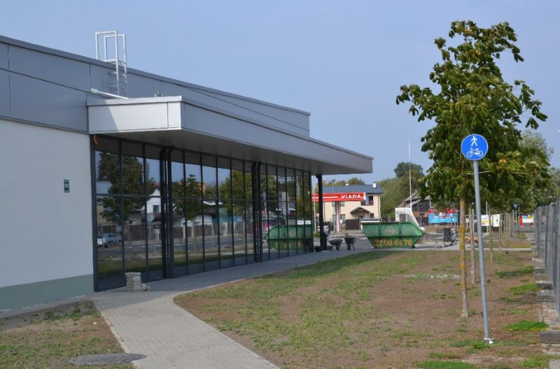 """AS """"UPB"""" pabeigusi vācu mazumtirdzniecības tīkla """"Lidl"""" veikala celtniecību Liepājā."""