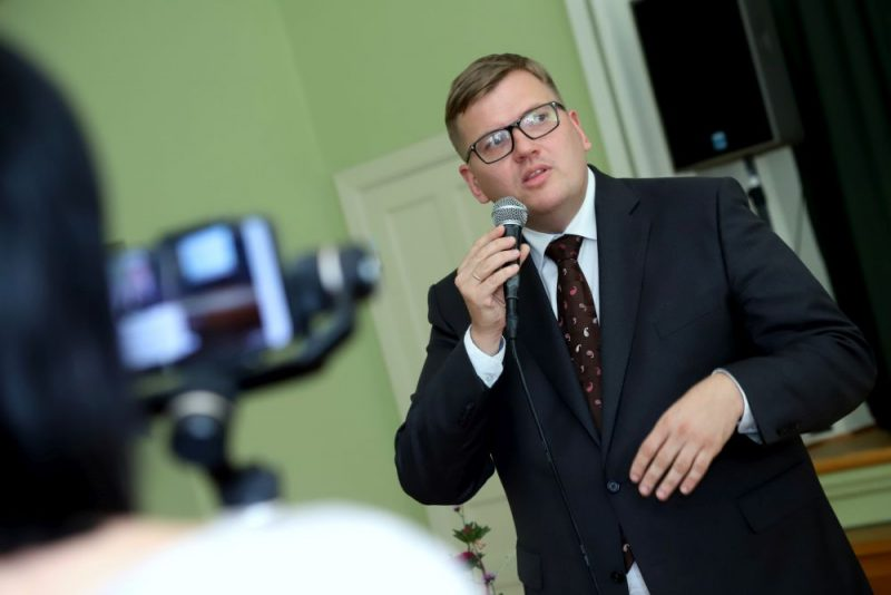 VARAM ministrs Juris Pūce