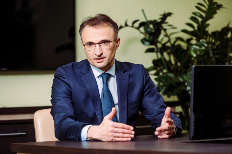 Ukrainas Putnkopju apvienības vadītajs Sergejs Karpenko.
