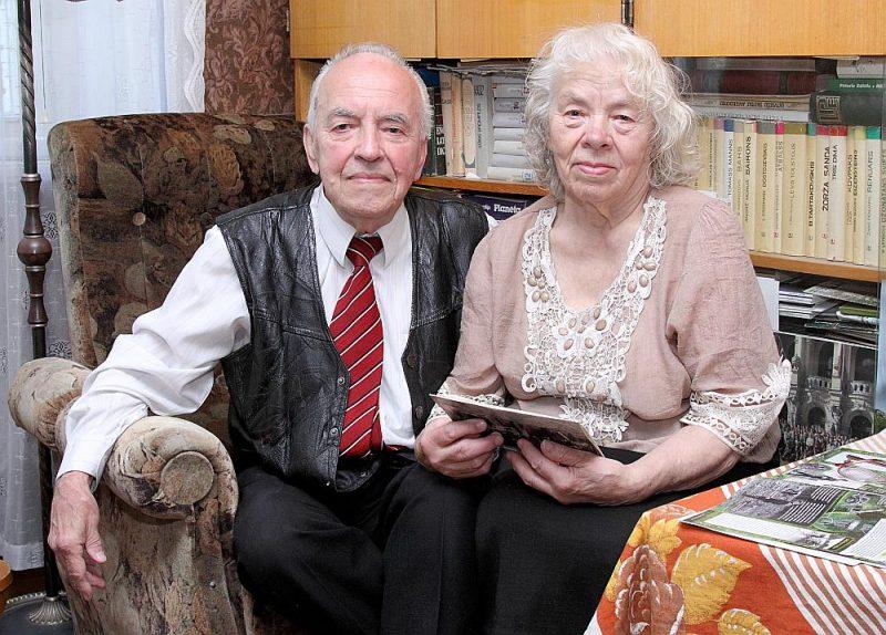 Augustā Zigurds un Malda Kariņi nosvinēja savas dimanta kāzas.