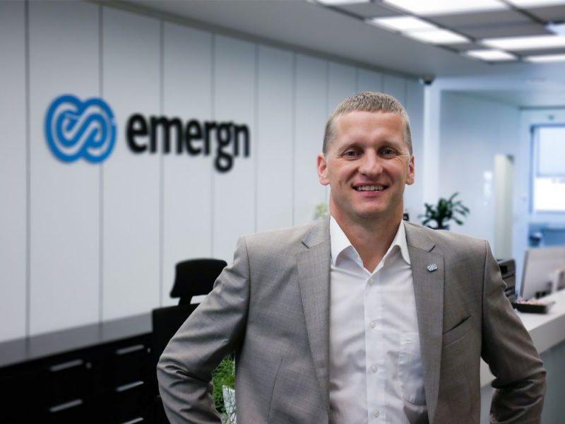 """AS""""Emergn"""" Eiropas reģiona vadītājs un valdes loceklis Kārlis Mikoss"""