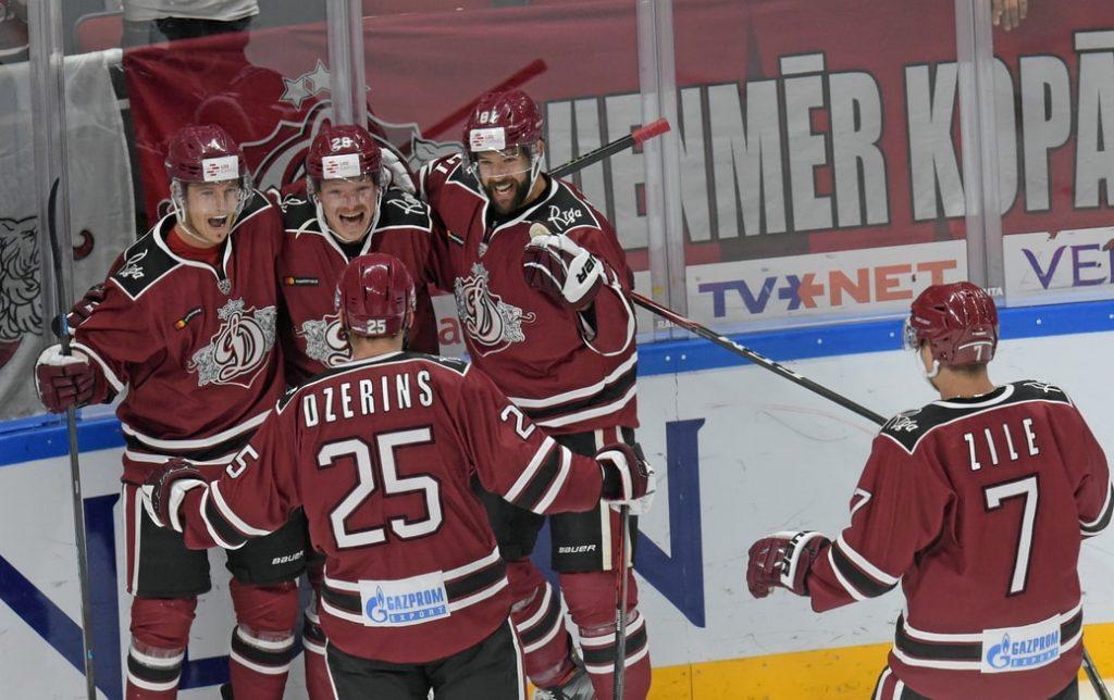 """Rīgas """"Dinamo"""" ir gatavi sezonai – """"Latvijas Dzelzceļa"""" kausa izcīņā četras uzvaras četrās spēlēs."""