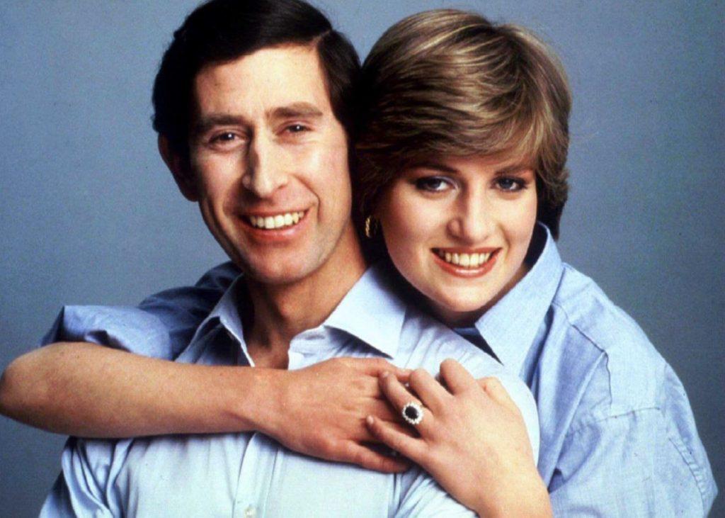 Princese Diāna un princis Čārlzs 1981.gadā.