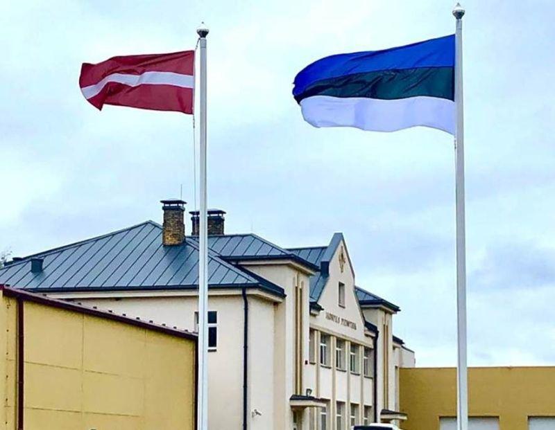 """LPKS """"Piena ceļš"""" piederošā pārstrādes uzņēmuma """"Jaunpils pienotava"""" ēka."""