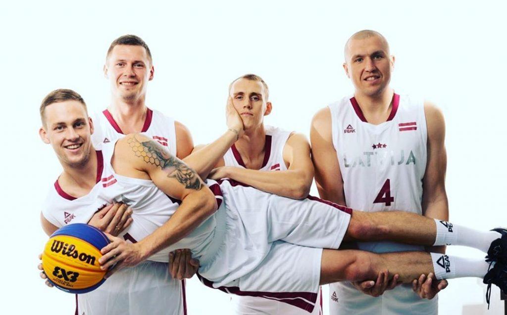 Latvijas 3×3 basketbola izlase.
